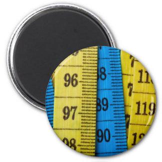 Cintas métricas imán redondo 5 cm
