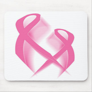Cintas rosadas Mousepad Alfombrilla De Ratón