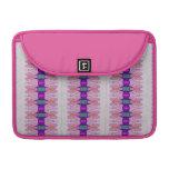cintas rosadas púrpuras bonitas funda para macbook pro