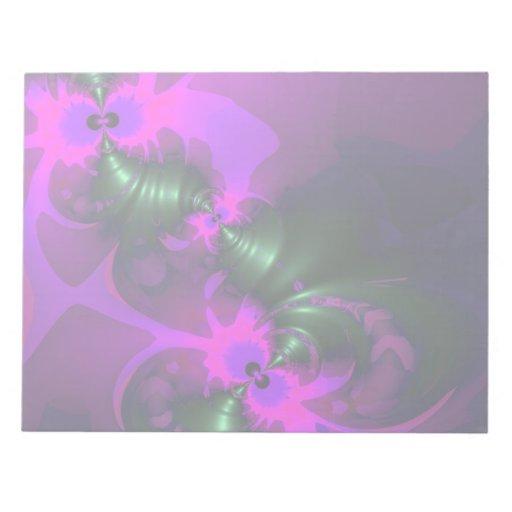 Cintas violetas y magentas del Imp púrpura - Blocs De Notas