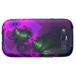 Cintas violetas y magentas del Imp púrpura - Galaxy SIII Cobertura