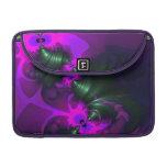 Cintas violetas y magentas del Imp púrpura - Funda Para Macbook Pro