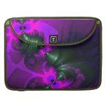 Cintas violetas y magentas del Imp púrpura - Funda Macbook Pro