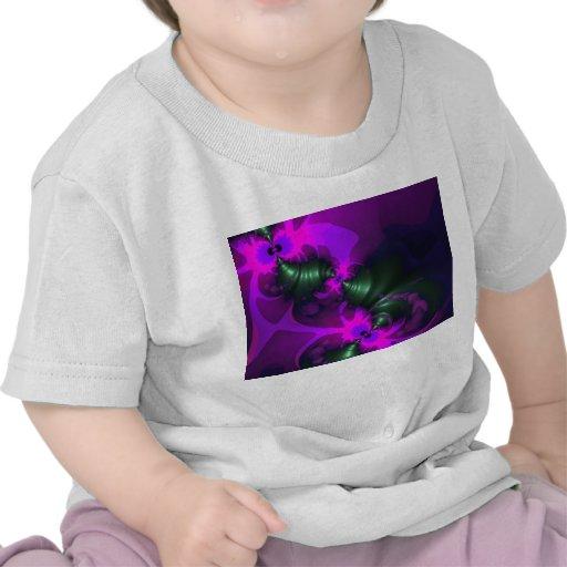 Cintas violetas y magentas del Imp púrpura - Camisetas
