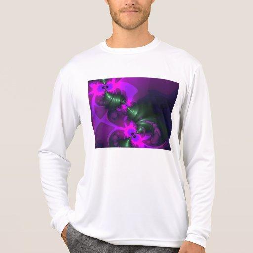 Cintas violetas y magentas del Imp púrpura - Remeras