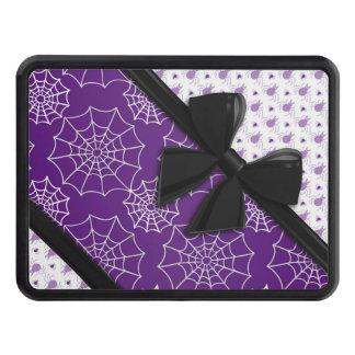 Cintas y arañas elegantes Halloween Tapa De Remolque
