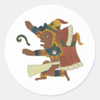 Cinteotl - Aztec / Mayan Creator God Klistermärken