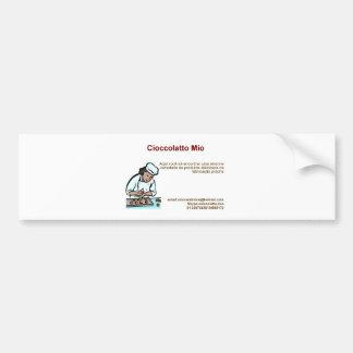 Cioccolatto Mio Bumper Sticker