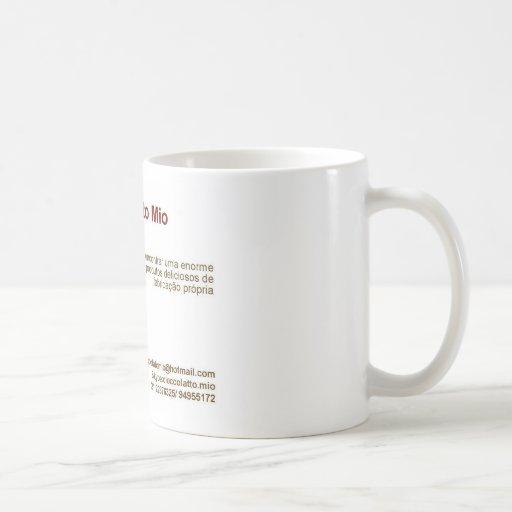 Cioccolatto Mio Classic White Coffee Mug