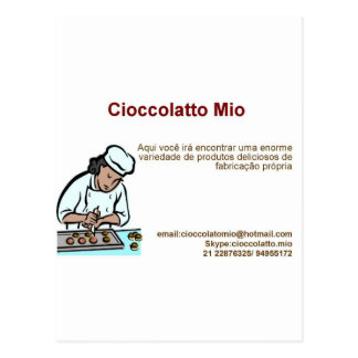 Cioccolatto Mio Postcard