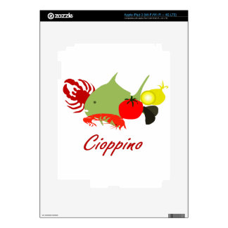 Cioppino iPad 3 Skin