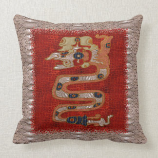 Cipacti Mayan Throw Pillow