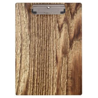 Cipboard de madera llevado viejo