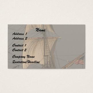 Cipper Sails/American Flag Business Card