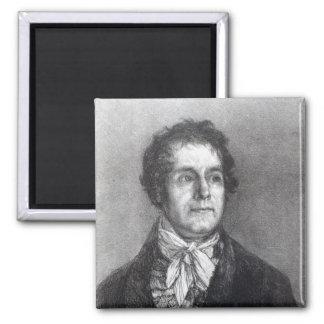 Cipriano Gaulon, 1824-5 Imán Cuadrado