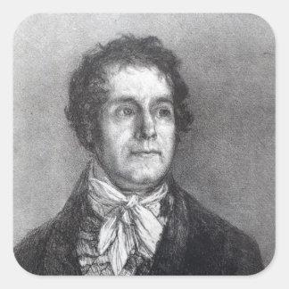 Cipriano Gaulon, 1824-5 Calcomanía Cuadradas