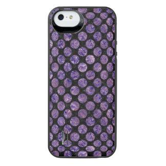 CIR2 BK-PR MARBLE iPhone SE/5/5s BATTERY CASE