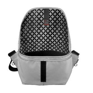 CIR3 BK MARBLE SILVER (R) MESSENGER BAG