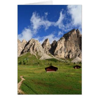 Cir Dolomites - Gardena pass Card