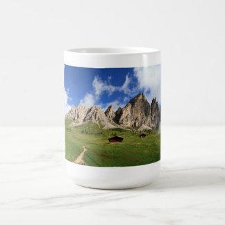 Cir Dolomites - Gardena pass Coffee Mug