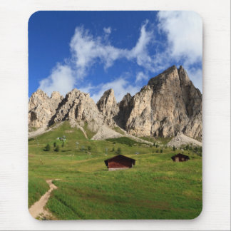 Cir Dolomites - Gardena pass Mouse Pad