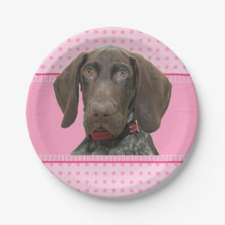 cir    grizzly   girlspink baby 4.jpg 7 inch paper plate
