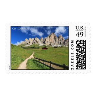 Cir group from Gardena pass Postage Stamp