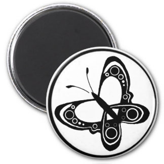 circ, butterfly 5 2 inch round magnet