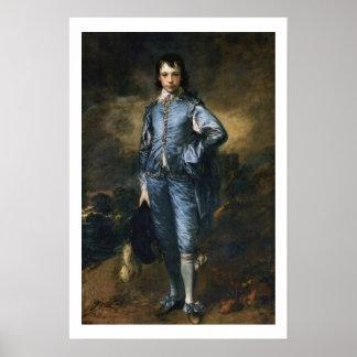 Circa 1770 The Blue Boy Vintage Art Poster