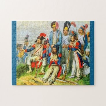 circa 1796 Napoleon's soldiers Jigsaw Puzzle