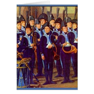 circa 1800 European military musicians
