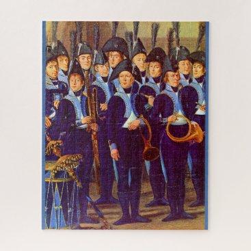 circa 1800 European military musicians Jigsaw Puzzle