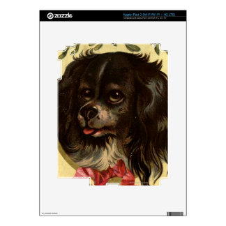 Circa 1878: A Christmas greetings card Decals For iPad 3