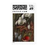 Circa 1890: Snowdrops Stamp