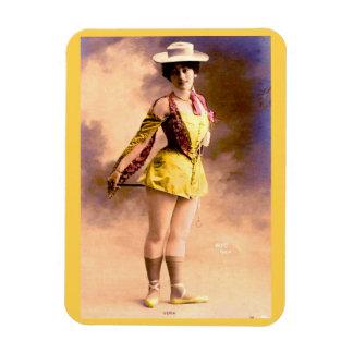 circa 1890 Vera nightclub artiste Magnet