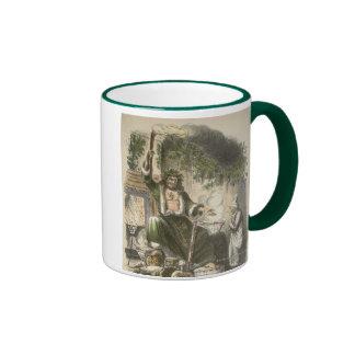 Circa 1900: The Ghost of Christmas Present Ringer Mug