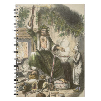 Circa 1900: The Ghost of Christmas Present Spiral Notebook