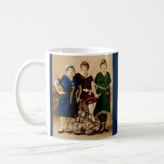 circa 1910 Atlantic City bathing beauties RPPC Coffee Mug