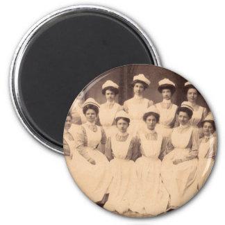 circa 1914 nursing school graduates magnet