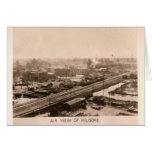 Circa 1931 Air View of Kilgore, Texas Cards