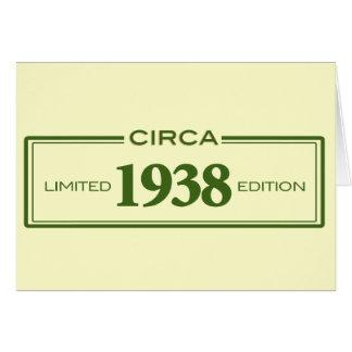 circa 1938 card