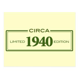 circa 1940 postcard
