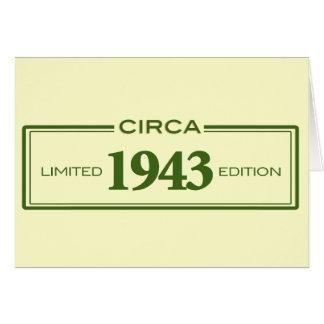 circa 1943 card