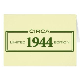 circa 1944 card