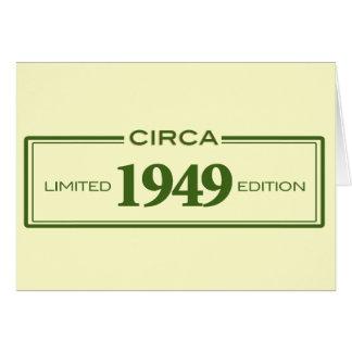 circa 1949 card