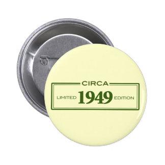 circa 1949 pinback button