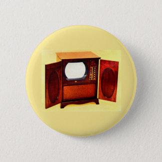 circa 1950 television set no. 1 button