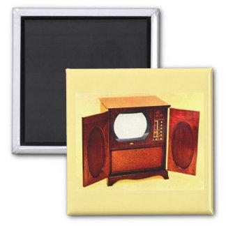 circa 1950 television set no. 1 magnet
