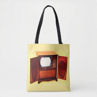 circa 1950 television set no. 1 tote bag