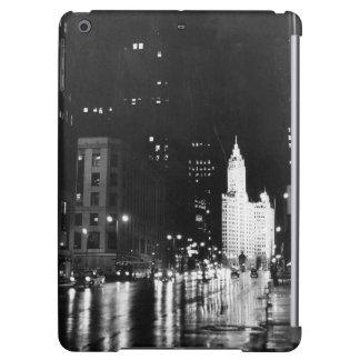 circa 1954:  A view down Michigan Avenue Case For iPad Air